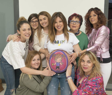 Belly painting + Baby shower Madrid