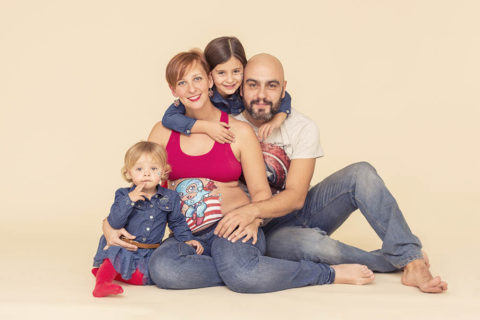 Foto de Belly painting en Familia