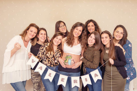 Sesión de fotos para una Baby Shower en Madrid